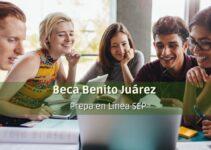 Beca Benito Juárez para prepa en Línea Sep